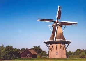 Zomers plaatje van molen de Star
