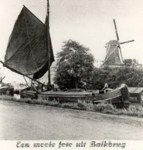 De molen op het zuiden - foto collectie G.H. Varwijk