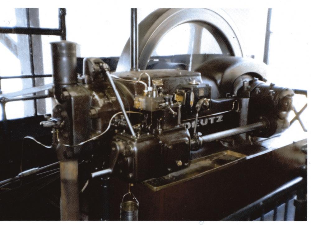 Voorbeeld Deutz dieselmotor