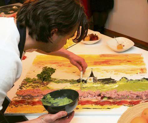 eetbaarschilderij 2 - Proefkamer Het Reestdal