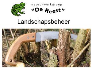 2016 – Landschapsbeheer